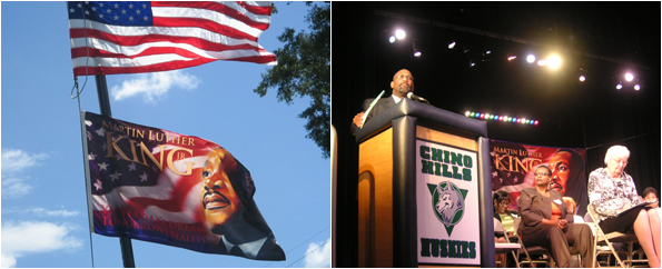 Martin Luther King, Jr. Flag, Flag Honoring MLK