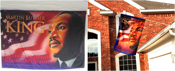 Dr. King Flag, MLK banner
